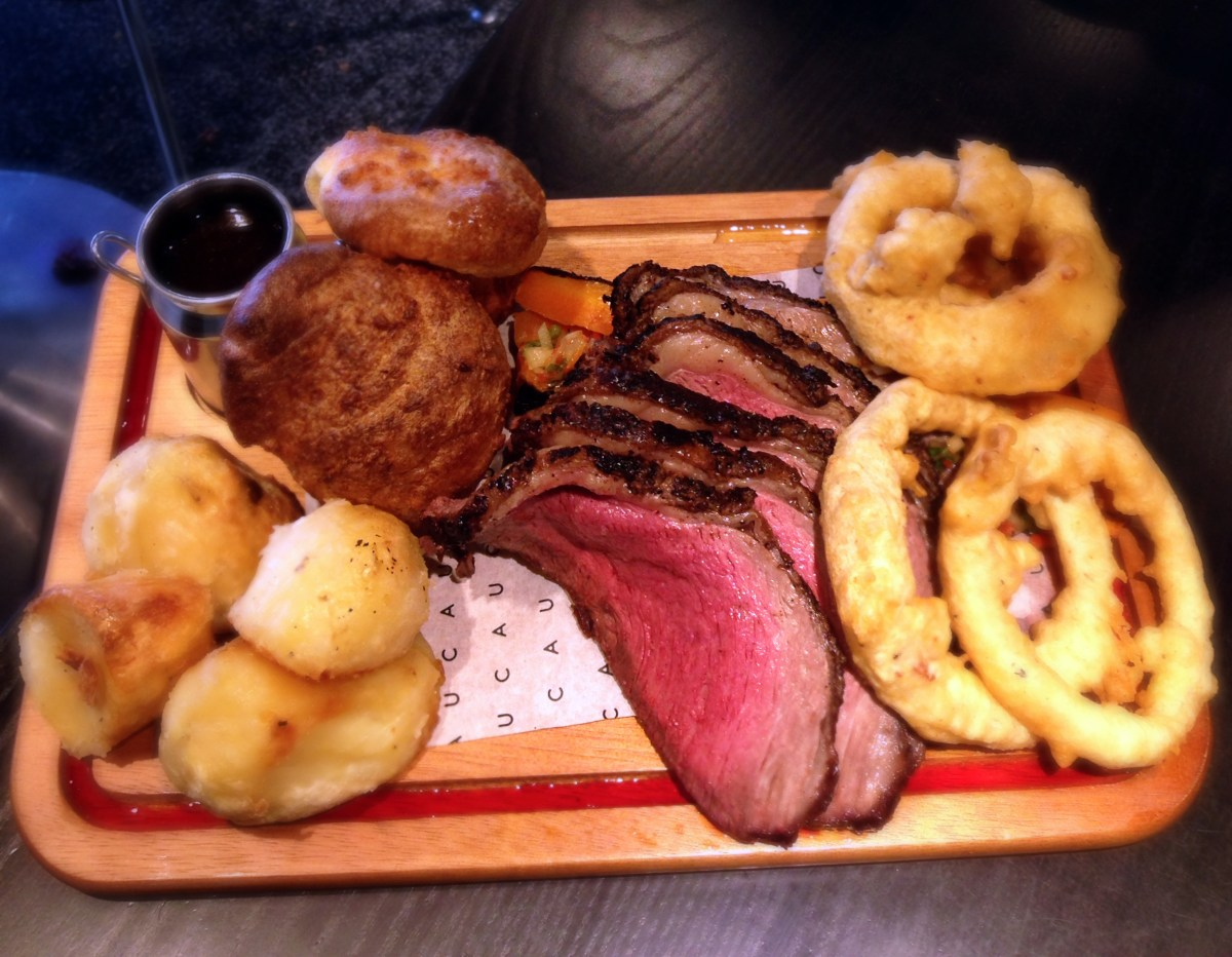 Beef up your Sundays | Roast dinners at CAU, 10-12 Royal Parade, Blackheath, London SE3 0TL