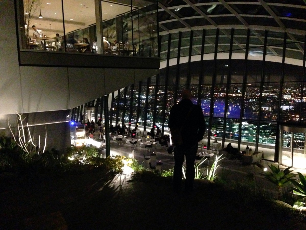 A Natural Selection? | Darwin Brasserie at the Sky Garden, 20 Fenchurch Street London EC3M 3BY