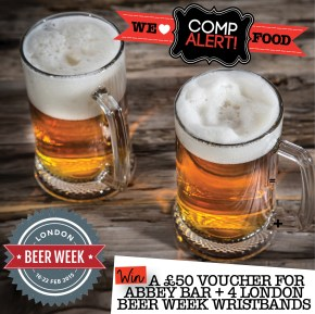 LONDON BEER WEEK | ZOMATO | WE LOVE FOOD, IT'S ALL WE EAT