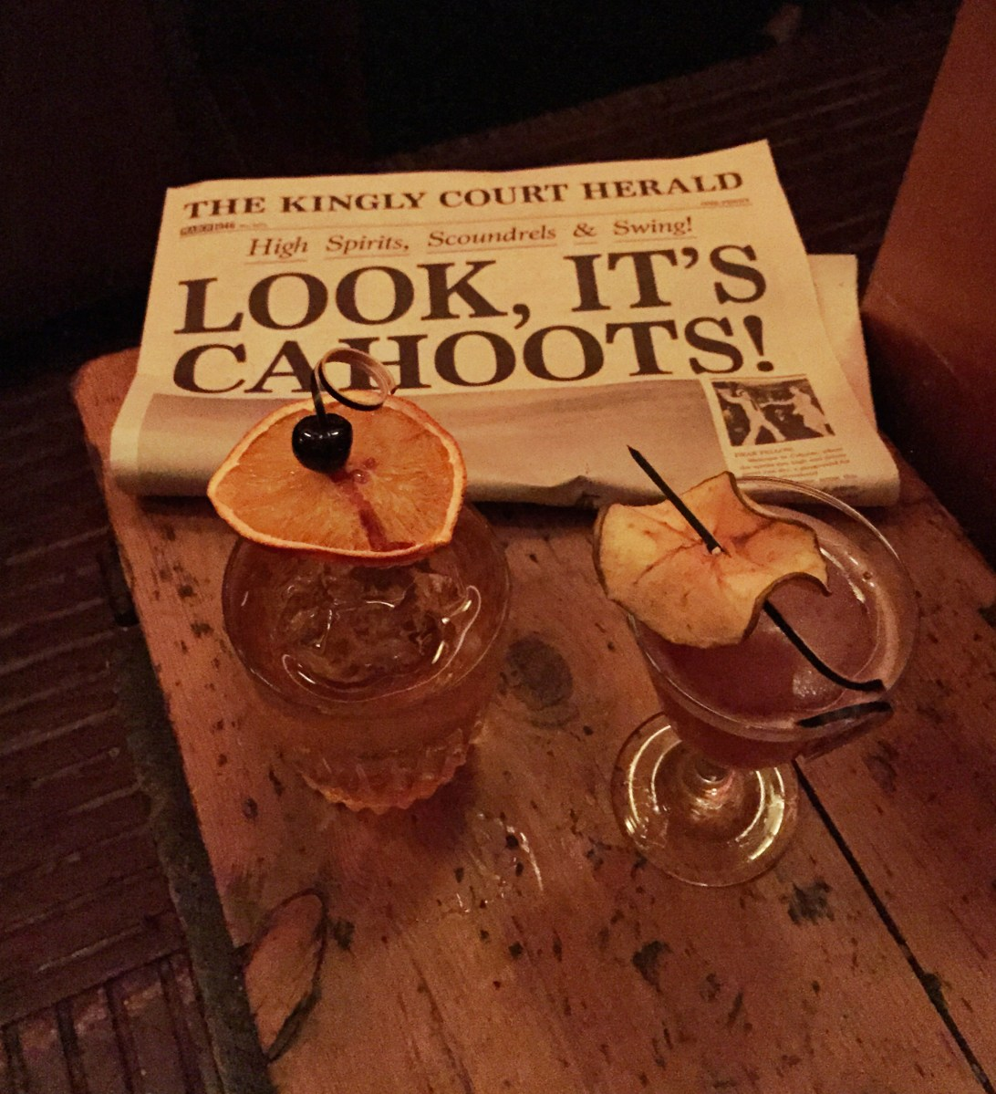 London's New Whizzo Underground Bar | Cahoots, 13 Kingly Court, London W1B 5PG