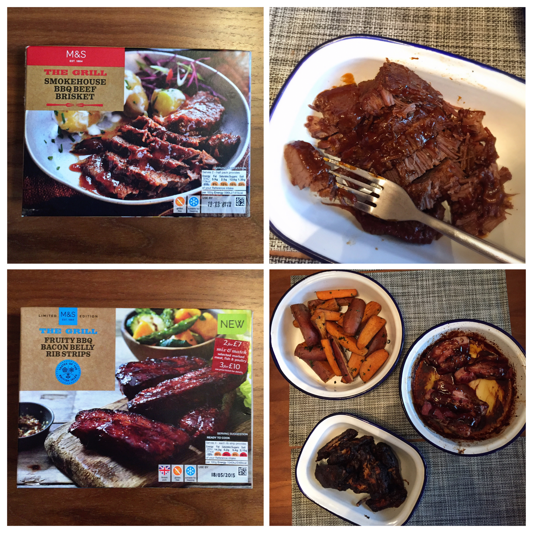Tried and tested marks and spencers the grill range you cant beat a bit of brisket or ribs or wings negle Gallery
