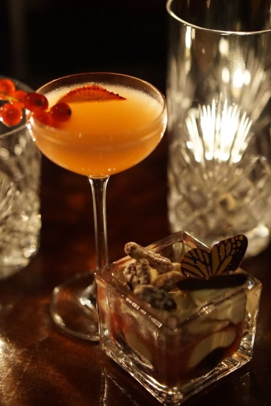 Speakeasy Cocktail Tea | The Blind Spot | St Martins Lane | WE LOVE FOOD, IT'S ALL WE EAT