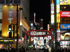Shinjuku, Tokyo. You can't come to Tokyo and not take a picture of the lights of Shinjuku!