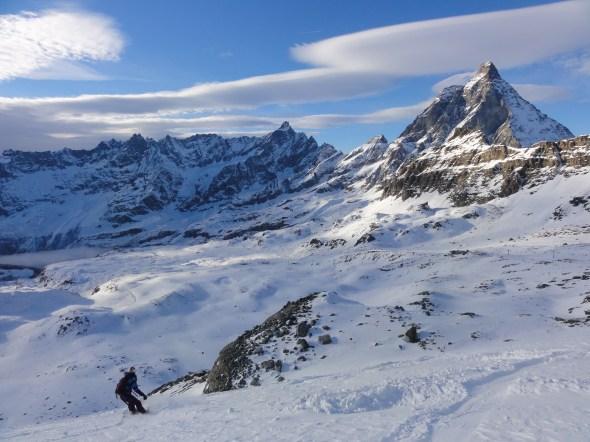 Cervinia and Matterhorn