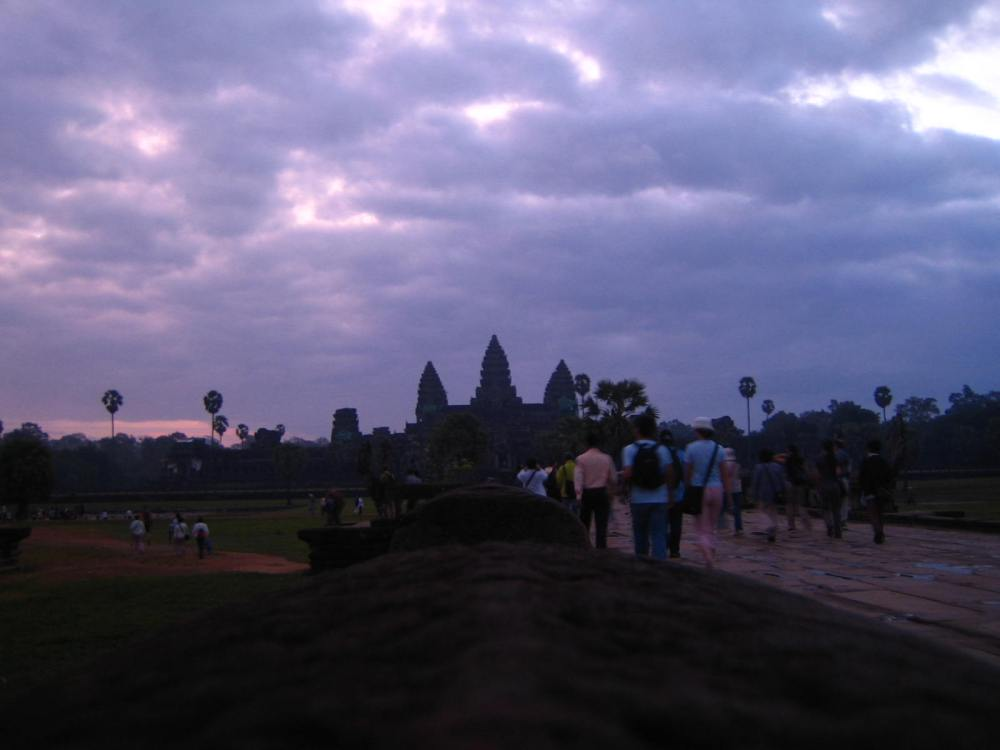 003 - Sunrise at Angkor Wat