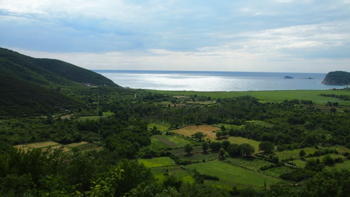 Beautiful countryside and coastline in Montenegro