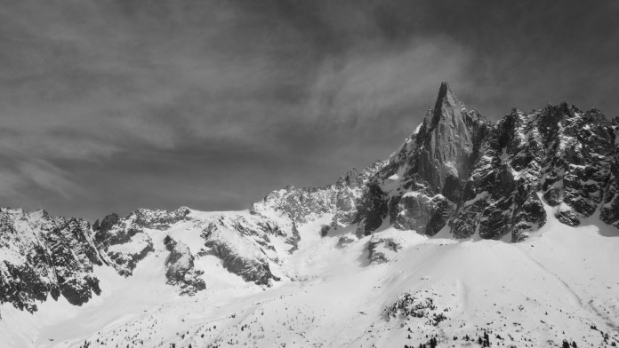 Looking at the Pas de Chevre and the spectacular Drus taken from Montenvers train after doing Vallee Blanche