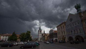 Storm brewing in Northern Czech Republic