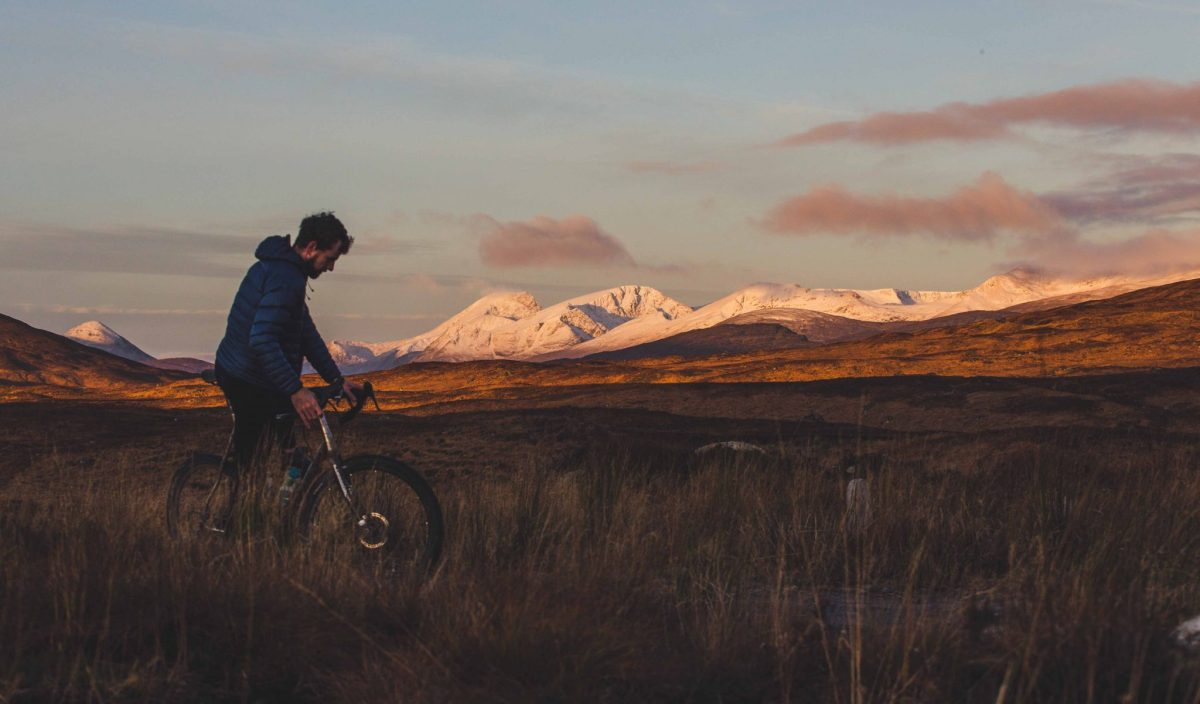 Bikepacking and the advent of winter in the Highlands
