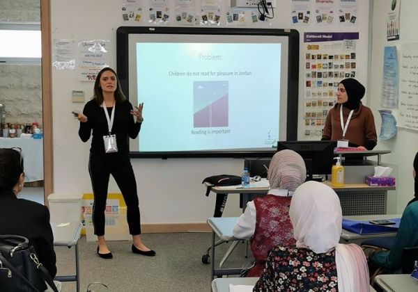 WLR Presentation at the Jordanian School Libranians Conference 2019