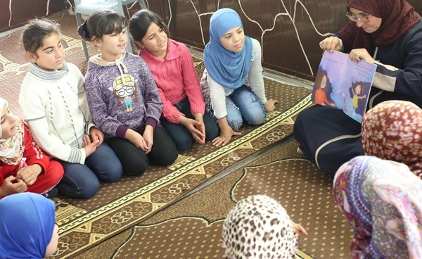 Reading rhymes with mental health benefits and resilience in Jordan