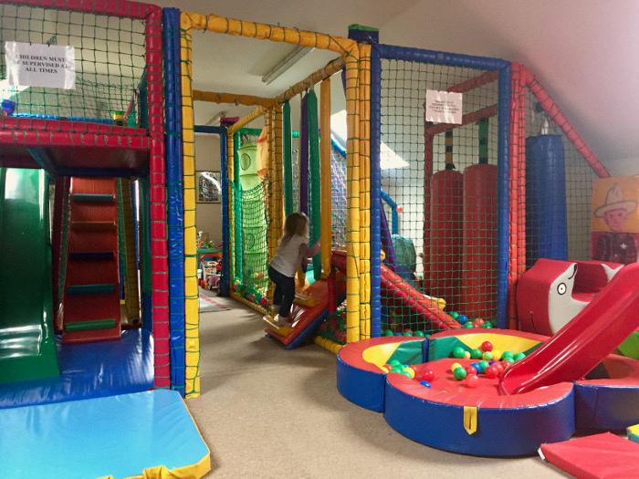 soft play Clydey Cottages