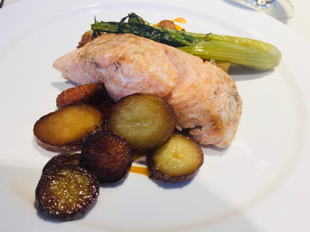 Eaves Restaurant Bridgend - salmon