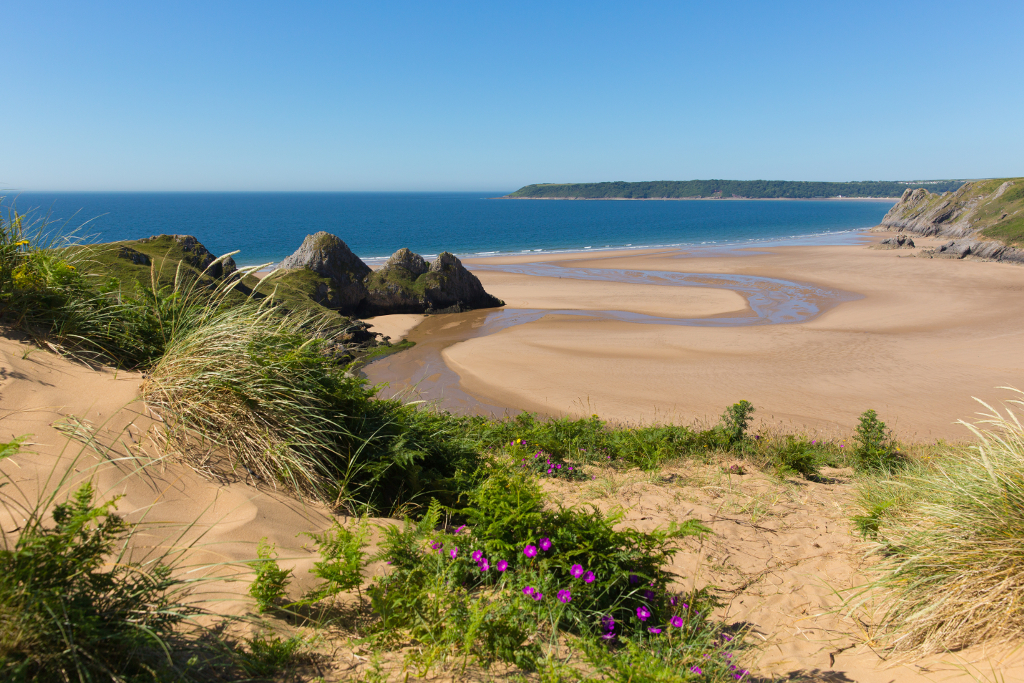 Three Cliffs Bay - Gower Peninsular