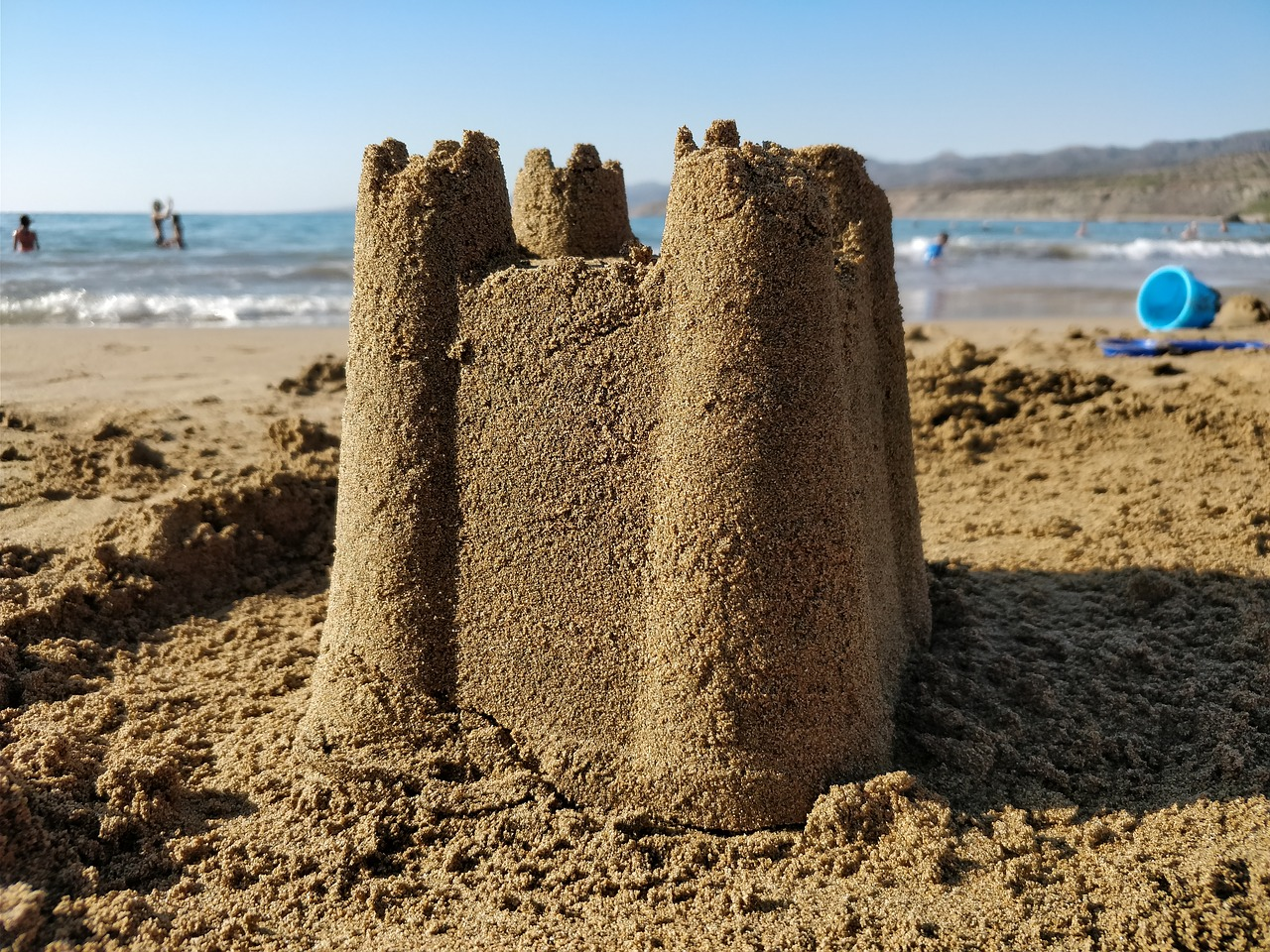 Things to Do in Wales-sand-castle