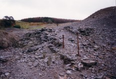 Remains of wheel-pit