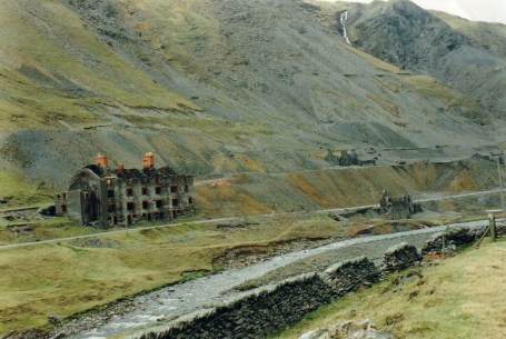 The Barracks viewed from South Cwmystwyth Mine