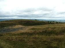 Dumps to the east of the minor road from Llanddewi Brefi to Ffarmer.