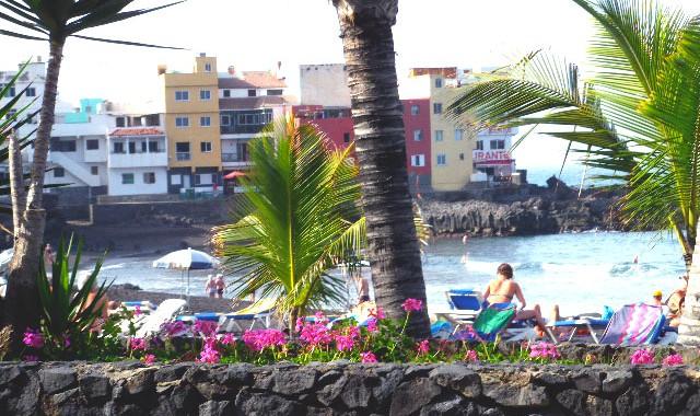 Fischersiedlung Punta Brava.