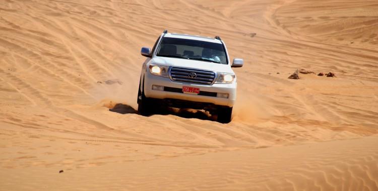 Dune Blasting Oman