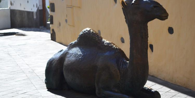 Aguimes Skulpturen