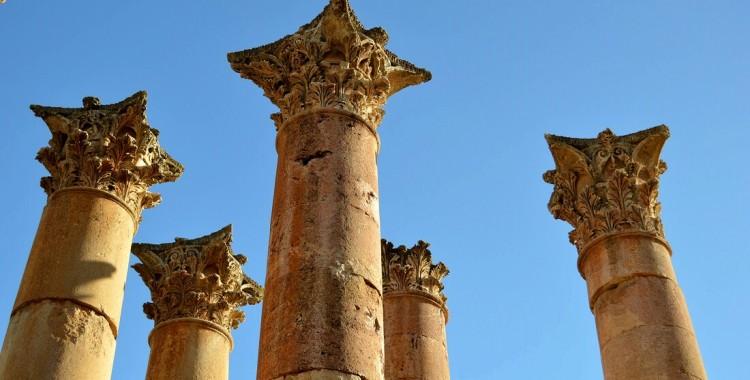 Säulen Jerash