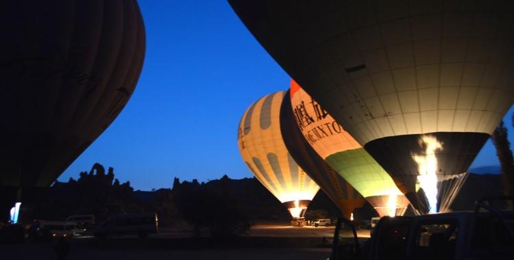 Ballonfahrt Startpunkt