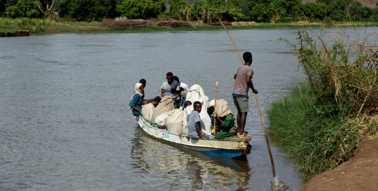 Blauer Nil Fähre