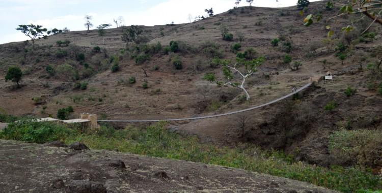 Tis-Issat-Fälle Landschaft