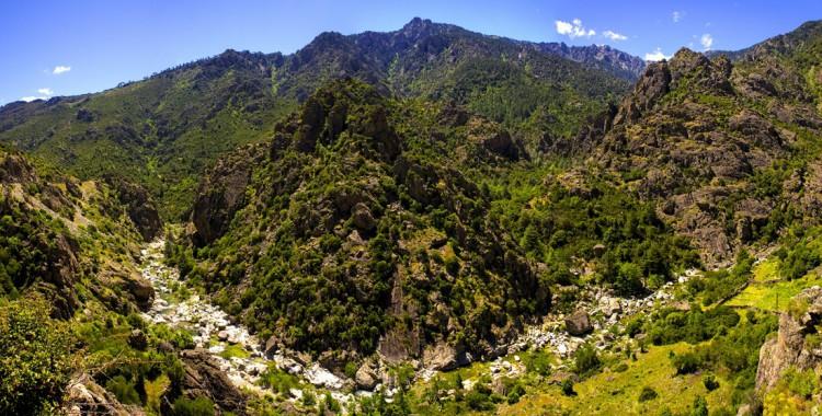 Korsika-Bergregionen
