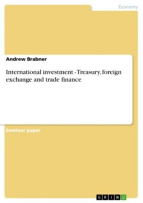 International investment - Treasury, foreign exchange and ...
