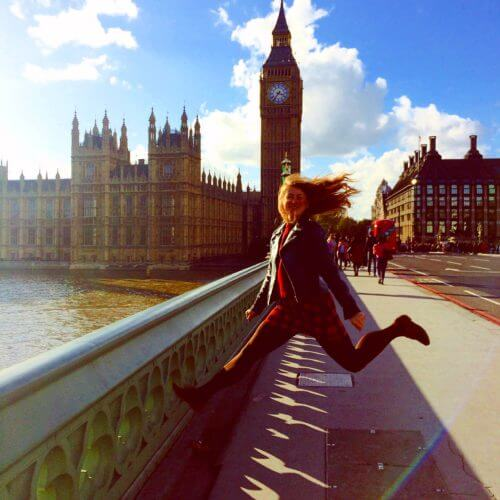 Das Wetter in London ändert sich sehr schnell, aber nicht heute