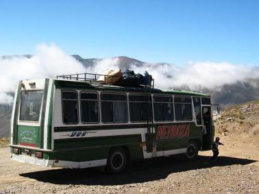 Ein Bus aus Chile