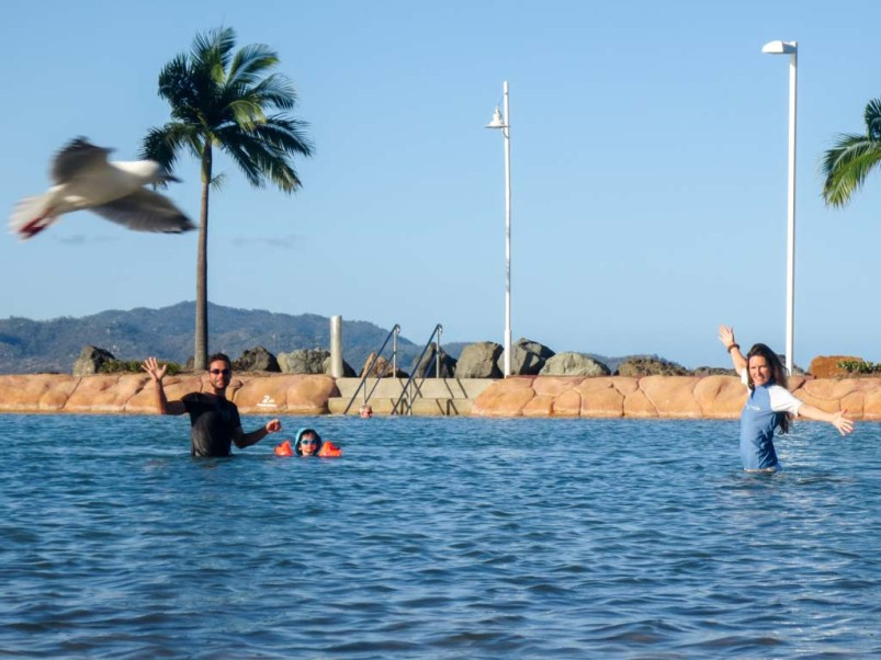 Rock pools in Townsville