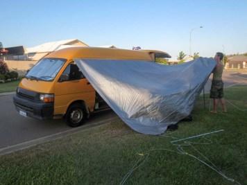 The sun tarp