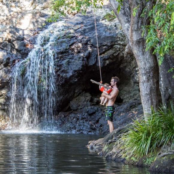 At the Kondalilla waterfalls