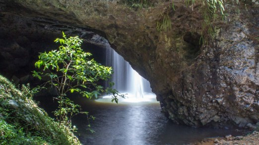 The Natural Bridge from outside