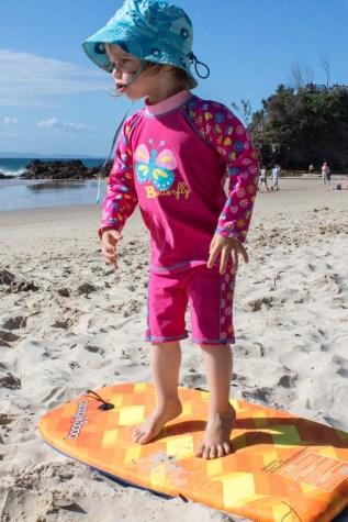 Future surfer girl