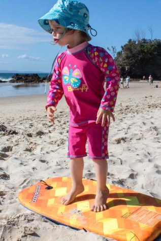 Future surfer girl