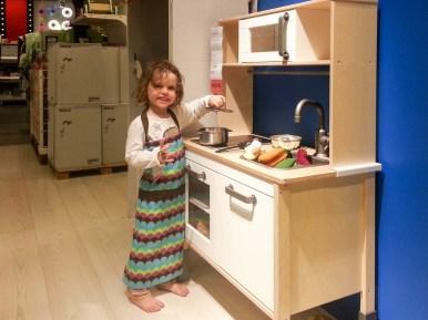 Kochen bei Ikea
