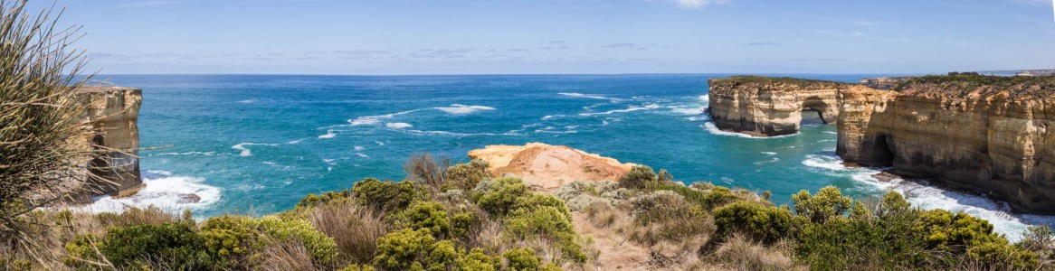 View of the Southern Ocean