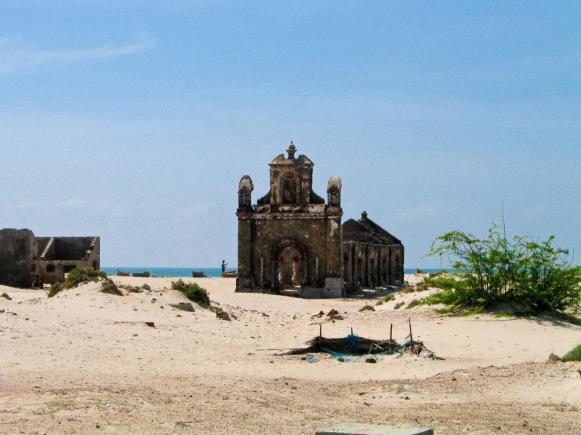 wunderschöner Strand bei Rameswaram
