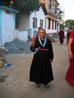 Tibetische Gebetsmühle