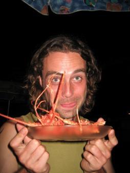 Lecker Lobster zum Geburtstag!