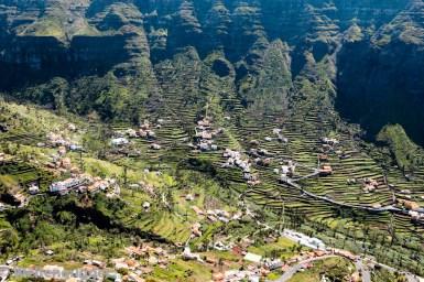 Terrassen-Landwirtschaft