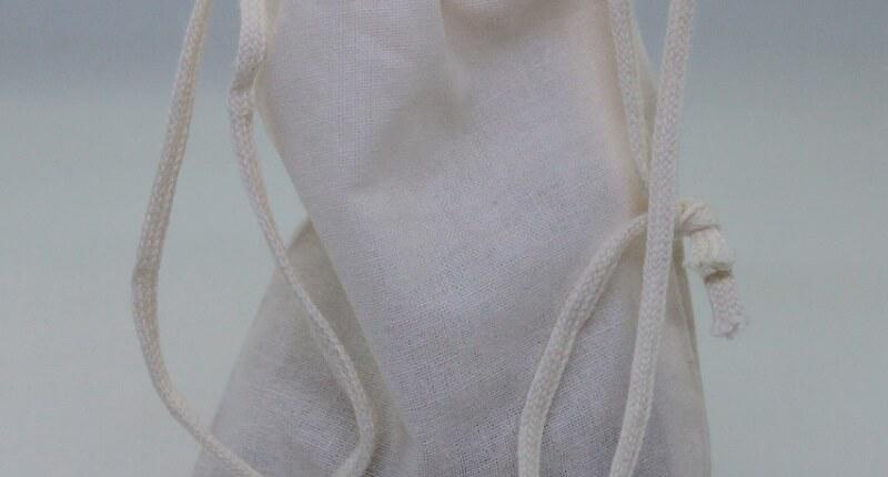 wiederverwendbares Baumwollsäckchen für Räucherharze