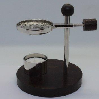 Verstellbares Siebgefäß für Kräuter und Hölzer