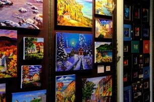 Künstlerszene in Québec