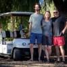 Ray wohnt in einem Campingresort und lädt uns nach Corona ein. Außerdem stattet er uns mit Kartenmaterial und Guide-book für Mexico aus. Herzlichen Dank!