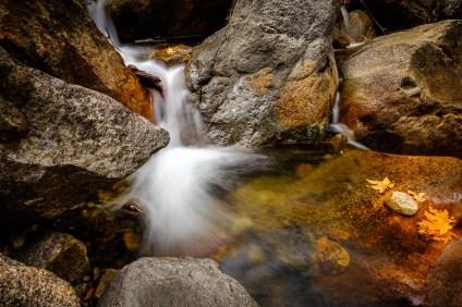 Fall Colors, Leaf, Stone, Waterfall, Yosemite_DSCF5810_1180